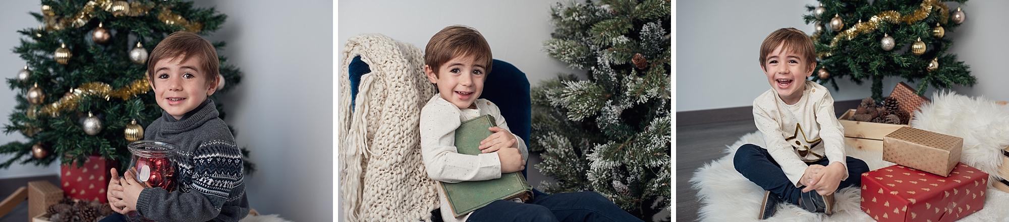 Mandarina - fotos de navidad familiares