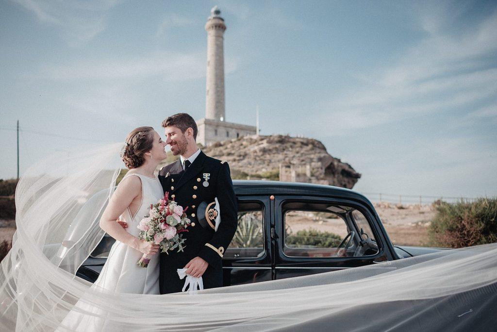 boda en cabo de palos