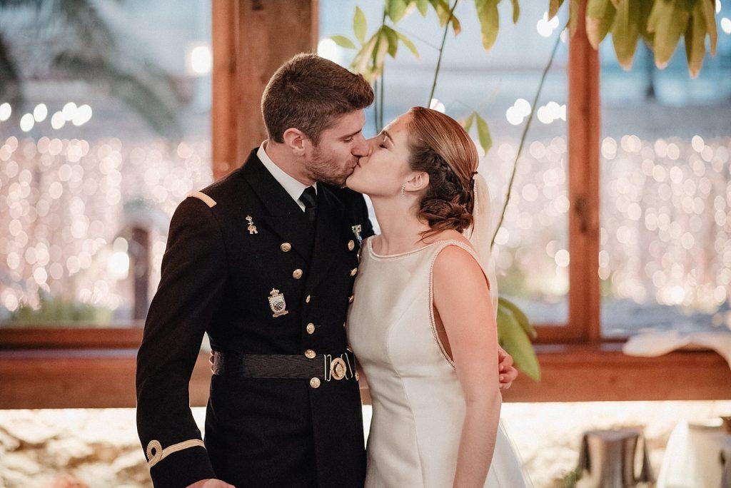 boda militar en el parador del mar menor