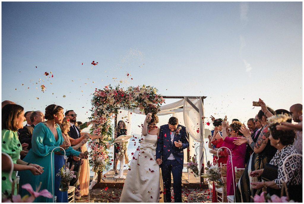 boda en la Manga del Mar Menor
