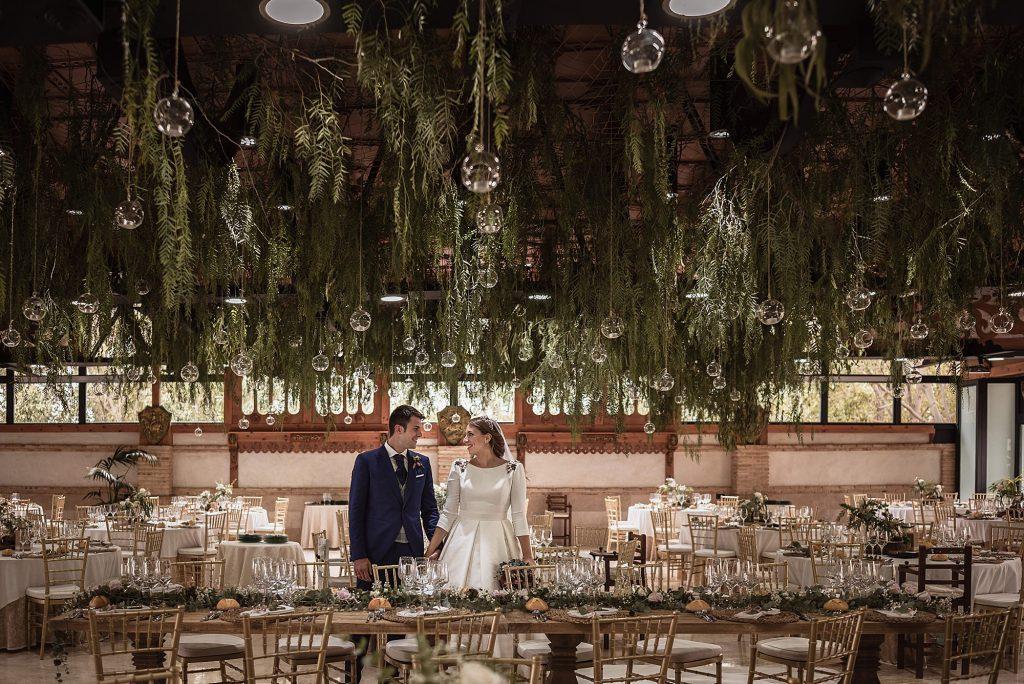 Jardín vertical boda finca jurosa