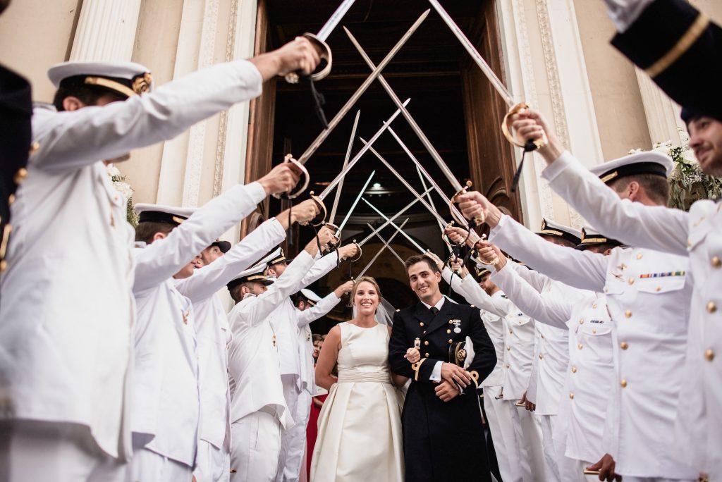 Fotografías de boda militar