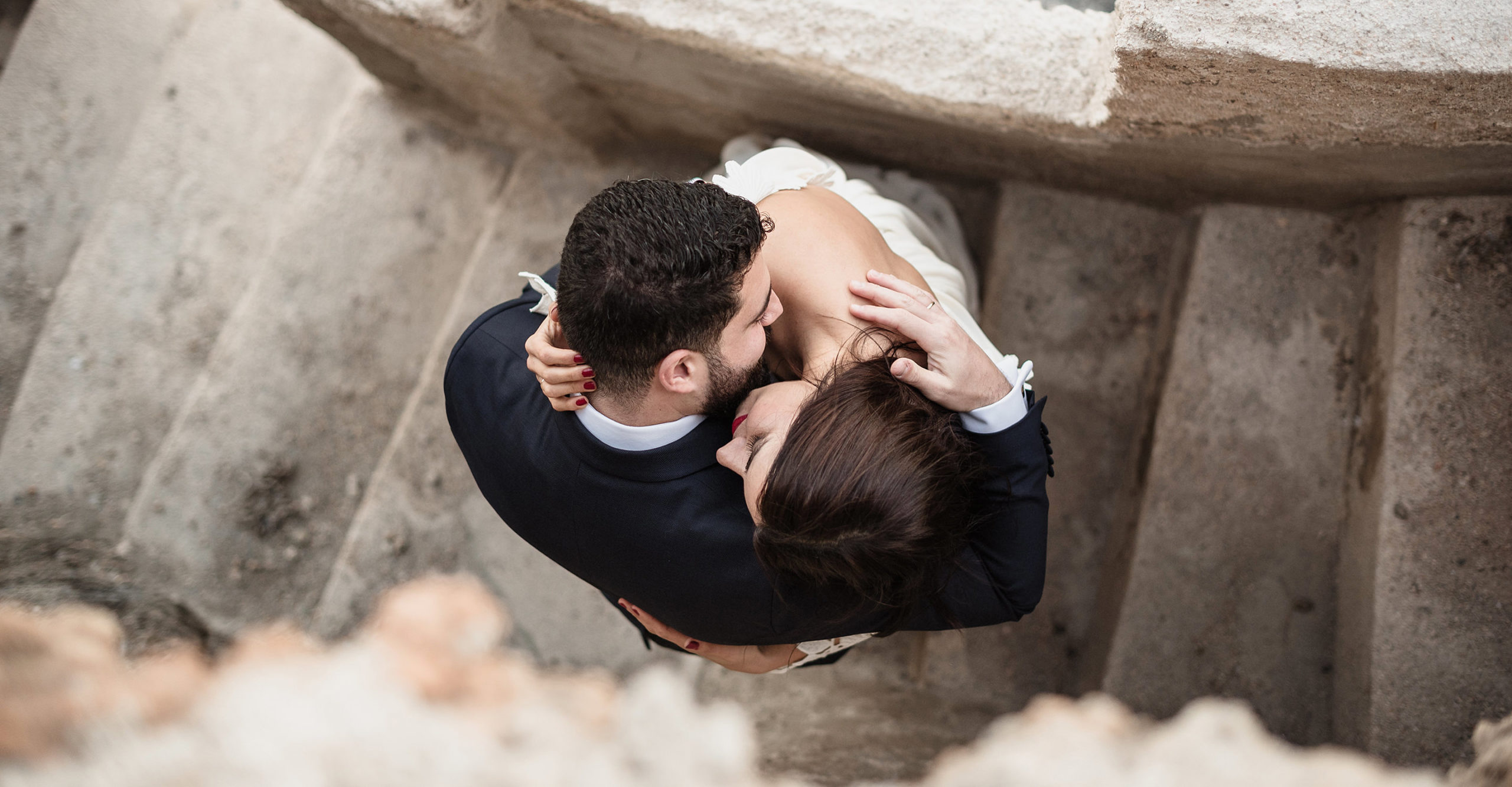 Fotografía de boda emocional en Murcia