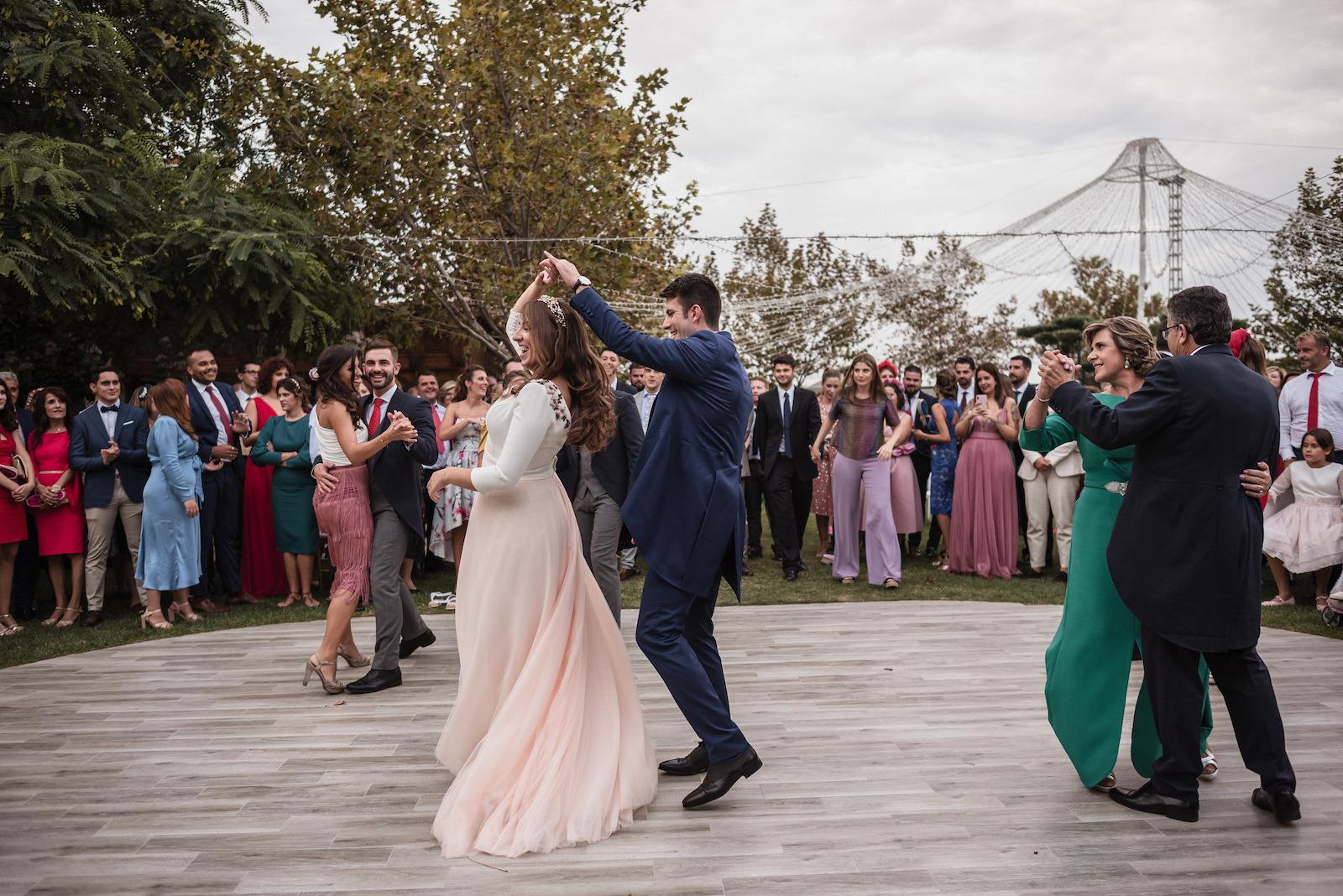 fotografia de boda bailes pre banquete